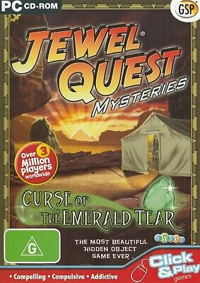 Pc Game - Jewel Quest Mysteries - Curse of the Emerald Tear