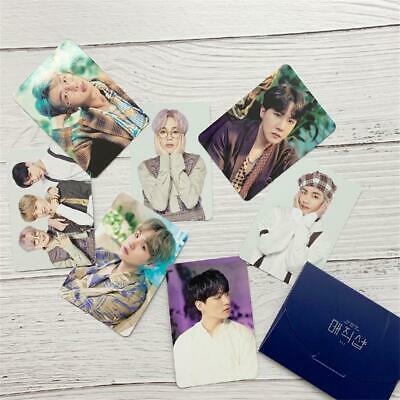 KPOP BTS Festa Concert Photo Cards Bangtan Boys Self-made Photocard Poster 8pcs