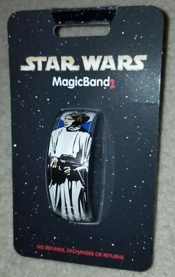 NEW Disney Parks Star Wars Princess Leia R2D2 Magic Band 2 LINKABLE