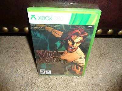 Brand New Factory Sealed Y Fold The Wolf Among Us Telltale Games Xbox 360