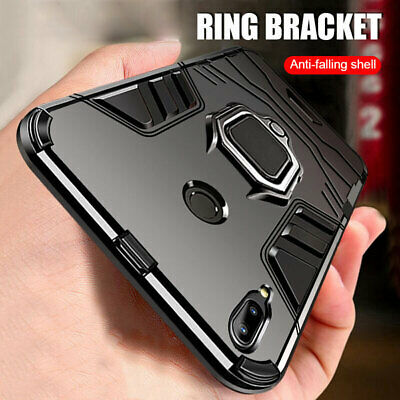 Magnetic Ring Holder Hybrid Armor Case Cover for Samsung Galaxy A50 A70 A60 A80