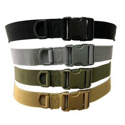 Men's Tactical Waistband Belt Military Training Heavy Duty Nylon Quick Release