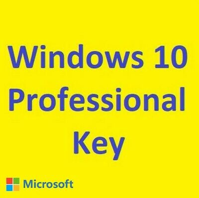 Windows 10 Professional Product Activate Key Code 32/64 Bits INSTANT SEND