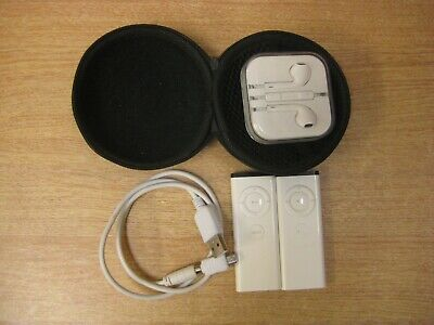 2x Apple remotes  A1156v pair of headphones & USB cable. remote