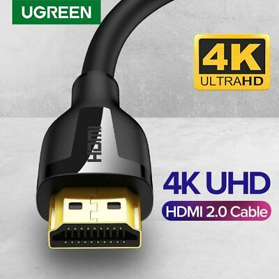 Ugreen HDMI Cable 4K HD HDMI 2.0 Cable Support 3D Effect for PS3 4 pro Projector