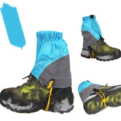 Mountain Hiking Climbing Boot Gaiters Multicolor Snow High Leg Shoes Covers BS