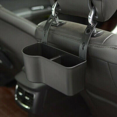 53A7EB0 Car SUV Headrest Seat Back Mount Organizer Drink Cup Holder Storage Box