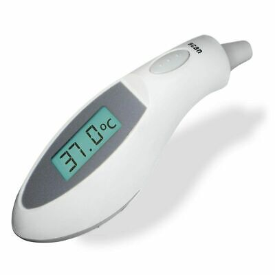 Digital LCD Ear Thermometer Medical Baby Adult Body Safe Temperature Oral AU