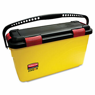 Rubbermaid Commercial HYGEN Charging Bucket Yellow Q95088YW