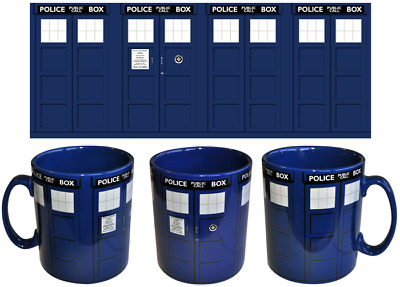 Doctor Who - TARDIS Mega Mug