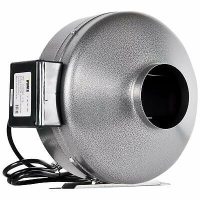iPower 6 Inch 442 CFM Inline Duct Ventilation Fan HVAC Exhaust Blower