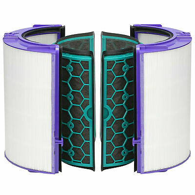 Genuine Dyson HP04 Pure Cool Purifier Glass HEPA & Inner Activated Carbon Filter