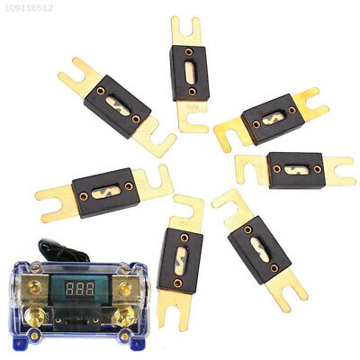 Woljay 0 2 4 Gauge ANL-350A ANL Fuse holder Gold Plated with Fuse 350A