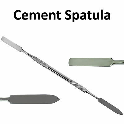 Dental Cement Spatula Double Ended Lab Mixing Restorative Hand Instrument