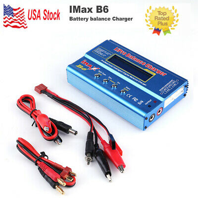 IMax B6 Dual Power AC/DC Digital LCD Lipo NiMh Battery Balance Charger K5B3