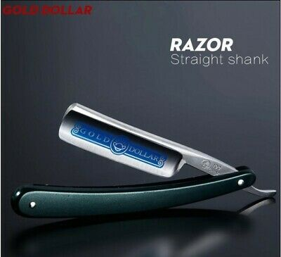 Cut Throat Razor Straight Edge Stainless Steel Shaving Blade For Barber Salon