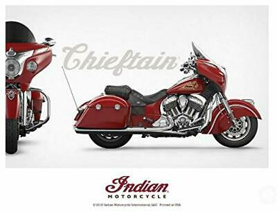 Indian Motorcycle Chieftain Poster - P/N: 2863924