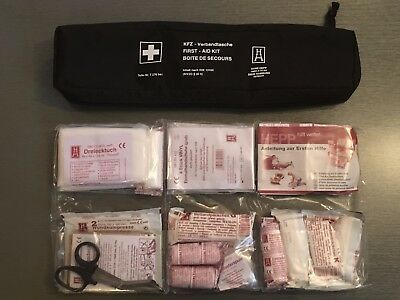GENUINE BMW Emergency First Aid Kit with Storage Bag EXPIRY 2020