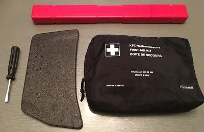 Bmw 3 & 4 Series First Aid Kit, Warning Triangle, Boot Divider & Screw Driver