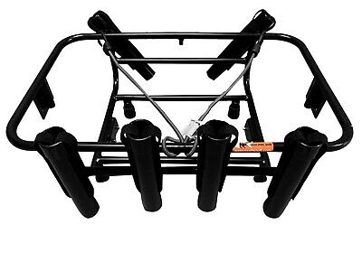 Jet Ski Fishing Rack 6 Rod Holders with Gas Plates - LinQ System