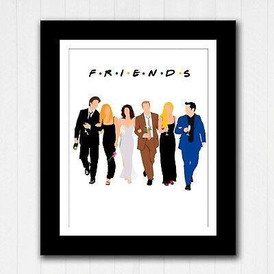 FRIENDS APARTMENT PICTURE POSTER 22x34 TV SHOW 16851