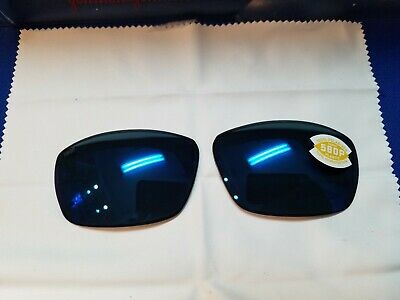 8b766c858404 Costa Del Mar TURRET Polarized GRAY 580P BLUE MIRROR REPLACEMENT LENSES