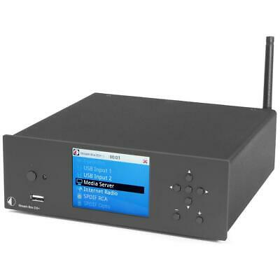 PRO-JECT STREAM BOX DS+ MUSIC STREAMER - BLACK - Authorized Seller