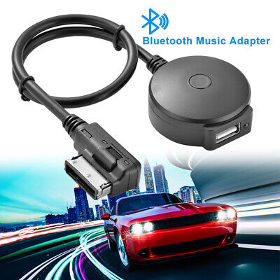 Qiilu Auto Car USB Aux-In Adapter MP3 Player Cable Radio Audio Interface for Honda Accord Civic Odyss