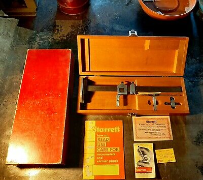 Starrett Model #454-12 Vernier Height Gage-12