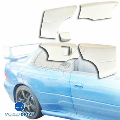 22B WIDE BODY 40mm Fenders (rear) 2pc Gc8 For Impreza 93-01