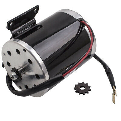 Electric Scooter Motor 24V 500W MY ZY1020 for go-kart Brushed E Bike 500 Watt