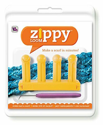 Authentic Knitting Board Zippy Loom Scarf 6500