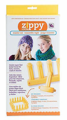 Authentic Knitting Board Zippy Master Loom Set 6675