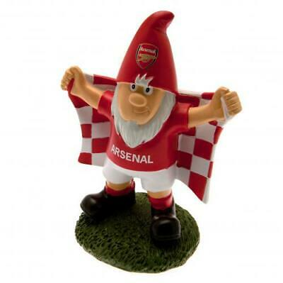 Arsenal FC Official Crested Garden Gnome Present Gift The Gunners
