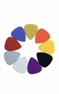 Guitar Pick Acoustic Electric Guitar Bass Celluloid Pick Plectrums Blue Yellow O