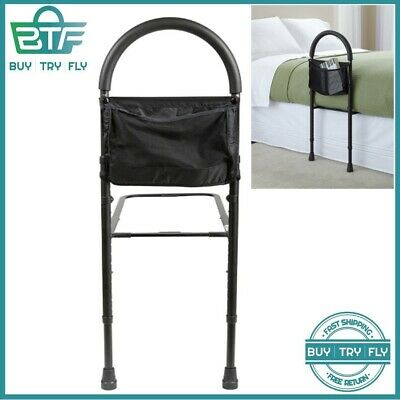 Bed Rails For Elderly Adult Seniors Handicap Adjustable Bedrail Safety Guard New