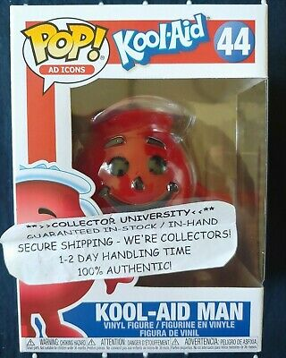 Funko Pop Kool Aid Man Kool-Aid Ad Icons Vinyl Figure #44 In Hand Rare * Mint *