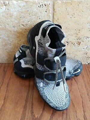 NIKE AIR VAPORMAX FLYKNIT FK Utility Oreo AH6834-201 Mens Size 8.5 Moon Particle