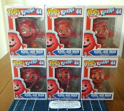 Funko Pop Kool Aid Man Kool-Aid Ad Icons Figure #44 Fast Ship In Hand * New *