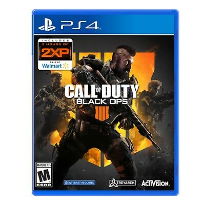 Call of Duty: Black Ops 4 (PlayStation 4, 2018) Disc & Case Pre-Owned Very Good