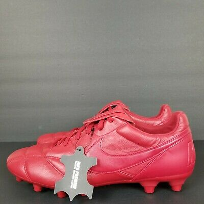 new style 30871 bc40f Nike Premier Ii 2 Fg Kangaroo Leather Soccer Cleats Red  917803-600  Men s