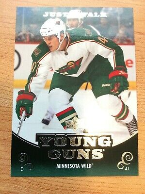 Upper Deck 2010-2011 Series One Justin Falk Young Guns Card #229
