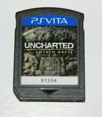 Uncharted: Golden Abyss Sony PlayStation Vita PS VITA (Cartridge Only) Tested!!!