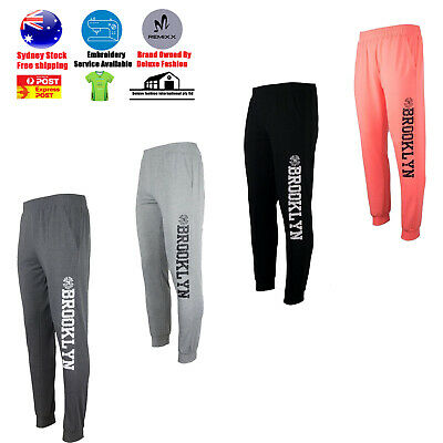 Unisex Slim Fit Jogger Sports Gym Bodybuilding Running Track Trousers Sweatpants