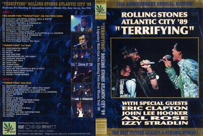 The ROLLING STONES-Live in Atlantic City 1989 {DVD Video Concert}<NEW> FREE SHIP