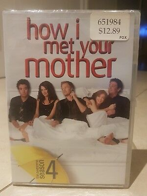How I Met Your Mother - Season 4 (DVD, 2010, Canadian) Brand New Factory Sealed