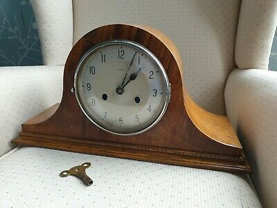 ENFIELD/  Haller chime mantel clock, Spares or Repairs, (ref A14)