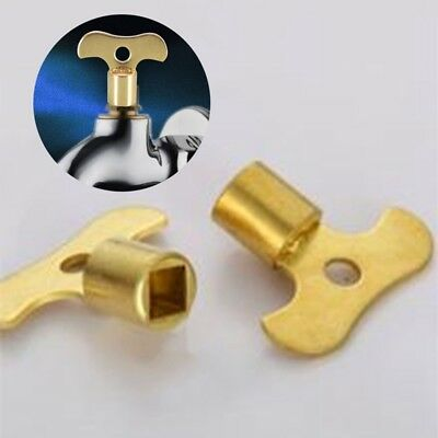2019 New Pretty 5 Pcs New Key Solid Brass Special Lock Key for Water Tap N#ach