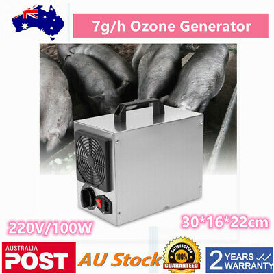 COMMERCIAL OZONE GENERATOR Machine Industrial Air Purifier