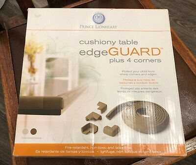 Prince Lionheart Cushiony Table Edge Guard (Plus 4 Corners) - NIP